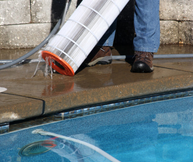 Pool maintenance is necessary, but it's also time-consuming. Professional services can help. See 5 important reasons to contract pool professionals.