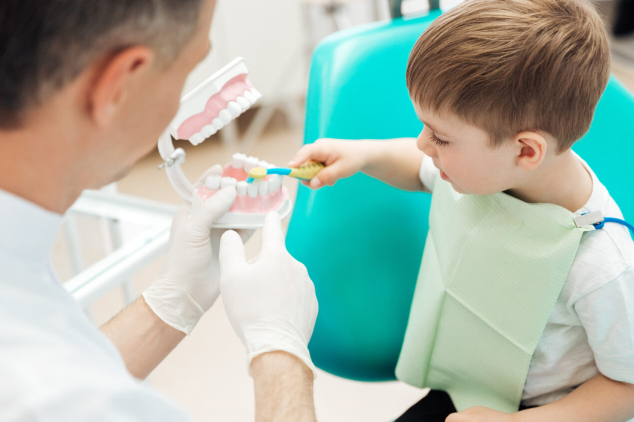 It is important to teach children about the importance of proper dental care. Check out these 5 tooth care tips to teach your kids.
