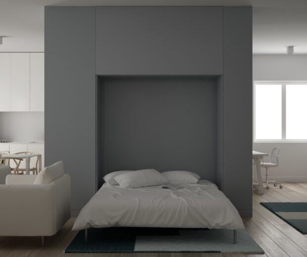 """Have you ever asked yourself the question, """"What is a murphy bed?"""" Learn more about murphy beds, how they work, and their benefits."""